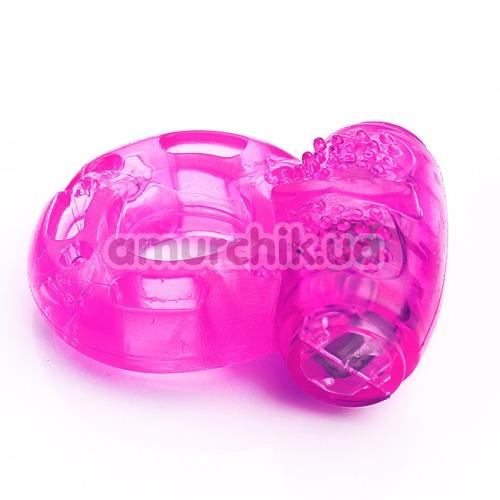 Виброкольцо Sex Vibrating Ring, фиолетовое