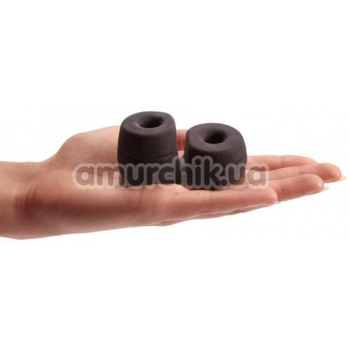 Эрекционное кольцо Pornhub Thick Cock & Ball Ring, черное