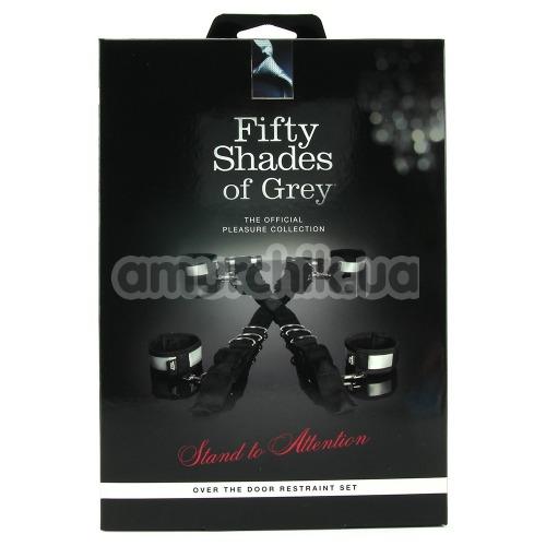 Бондажный набор Fifty Shades of Grey Stand To Attention Over the Door Restraint Set