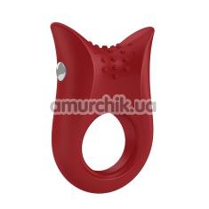 Виброкольцо OVO B2, красное - Фото №1