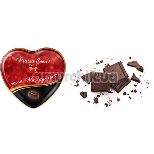 Массажная свеча Plaisir Secret Paris Bougie Massage Candle Chocolate - шоколад, 35 мл