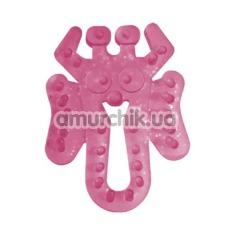 Эрекционное кольцо Grass&Co, розовое - Фото №1