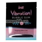 Возбуждающий гель с эффектом вибрации Intt Vibration Bubble Gum Tingling Effect Gel - жвачка, 5 мл - Фото №1