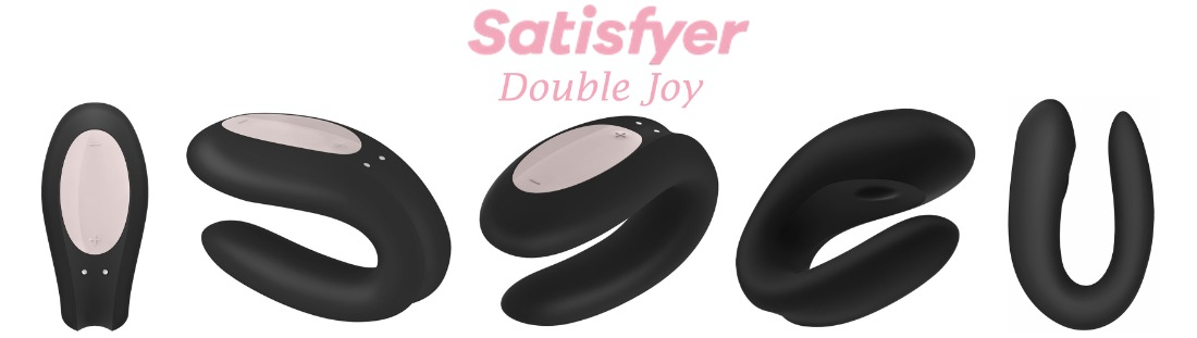 Вибратор Satisfyer Double Joy Partner Vibrator