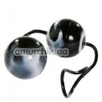 Вагинальные шарики Minx Jiggle Duo Love Balls, черные