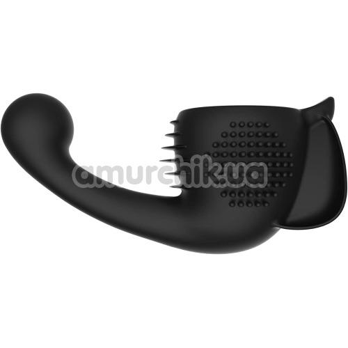 Насадка для вибромассажеров Lovense Domi/Domi 2 Female Attachment, черная - Фото №1