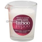 Массажная свеча Taboo Caresses Ardentes - лесной папоротник, 60 мл
