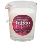 Массажная свеча Taboo Caresses Ardentes - лесной папоротник, 60 мл - Фото №1