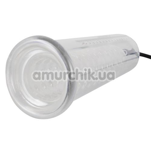Вакуумная помпа Mister Boner Fantastic Power Pump, прозрачная
