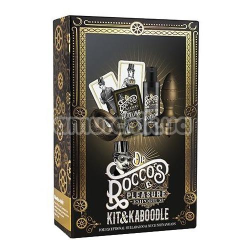 Набор Rocks-Off Dr Roccos Pleasure Emporium Kit and Kaboodle, бронзовый