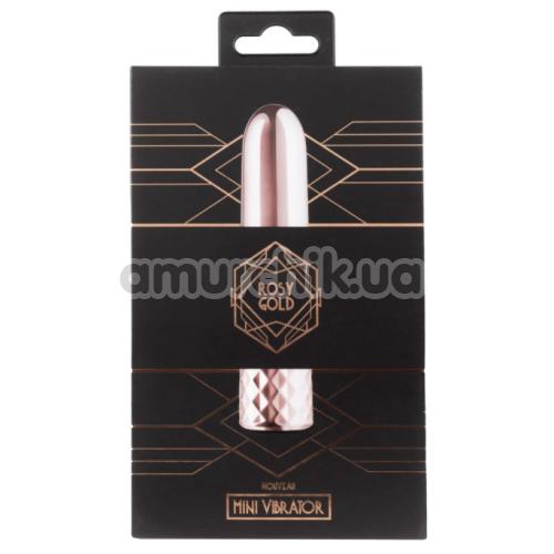 Вибратор Rosy Gold Nouveau Mini Vibrator, розовый