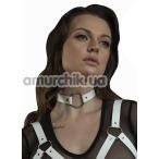 Чокер Feral Feelings O-Ring Collar, белый - Фото №1