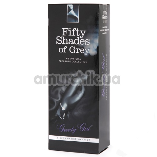 Вибратор Fifty Shades of Grey Greedy Girl, черный