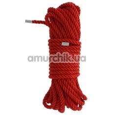 Веревка Blaze Deluxe Bondage Rope 10м, красная - Фото №1