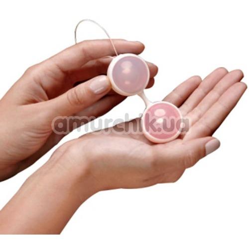 Вагинальные шарики Lovetoy Luna Beads II, розовые