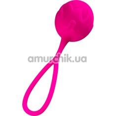 Вагинальный шарик Adrien Lastic Mia Single Soft-Tone Ball, розовый - Фото №1