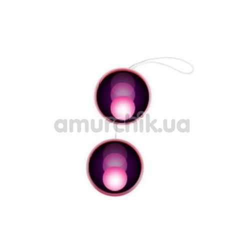 Вагинальные шарики Twins Ball, сиреневые