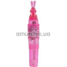 Клиторальный вибратор Toy Joy Bunny Stimulator, розовый