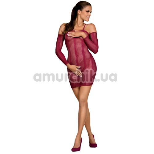 Платье Obsessive Dressie, бордовое - Фото №1