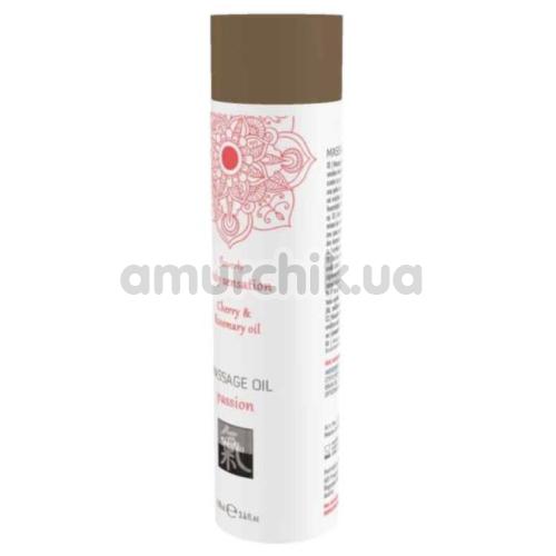 Массажное масло Shiatsu Body Massage Oil Cherry & Rosemary Oil - вишня и розмарин, 100 мл