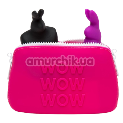 Сумочка для хранения секс-игрушек Happy Rabbit Storage Case Small, розовая