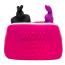 Сумочка для хранения секс-игрушек Happy Rabbit Storage Case Small, розовая - Фото №6