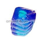 Эрекционное кольцо Hand Shaped Cock Ring, голубое