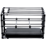 Клетка для наказаний Kennel Adjustable Cage With Padded Board, черная - Фото №4