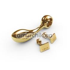 Стимулятор простаты для мужчин Lelo Earl Gold (Лело Эрл Голд), золотой - Фото №1