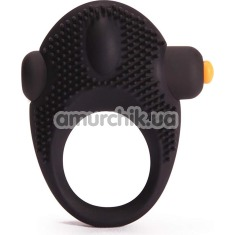 Виброкольцо Pornhub Vibrating Cock Ring, черное - Фото №1