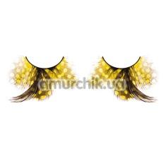 Ресницы Yellow Feather Eyelashes (модель 627) - Фото №1