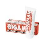 Массажный крем для мужчин Gigaman (erection development cream)