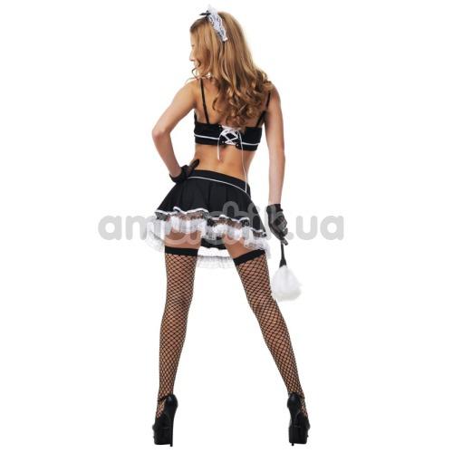 Костюм горничной LeFrivole Maid Costume, чёрный