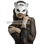 Маска Кошечки Feral Feelings Catwoman Mask, белая - Фото №1