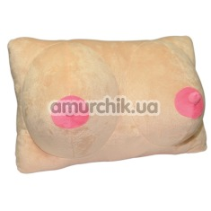 Подушка Plush Pillow Breasts, телесная