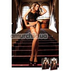 Чулки Skin Colored Mesh Stockings телесные (модель B217) - Фото №1