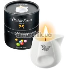 Массажная свеча Plaisir Secret Paris Bougie Massage Candle Bubble Gum - жвачка, 80 мл - Фото №1
