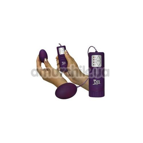 Виброяйцо Velvet Pill фиолетовое