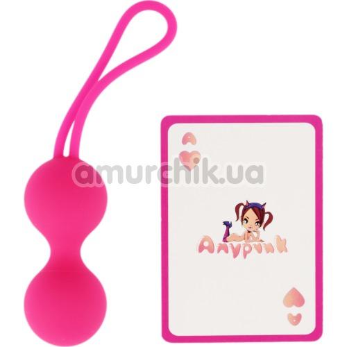 Вагинальные шарики Easy Toys Love Geisha Ball, розовые