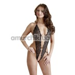 Боди Crotchless Rhinestone Body - Фото №1