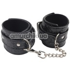 Поножи Behave! Luxury Fetish Be Good Ankle Cuffs, черные