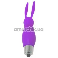 Клиторальный вибратор Perfect Clitoral Bunny, фиолетовый