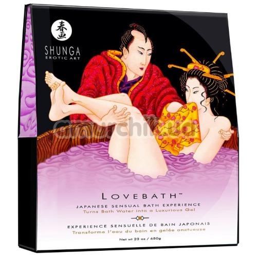Гель для ванны Shunga Lovebath Sensual Lotus - лотос, 650 г - Фото №1