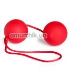 Вагинальные шарики Velvet Red Balls красные - Фото №1
