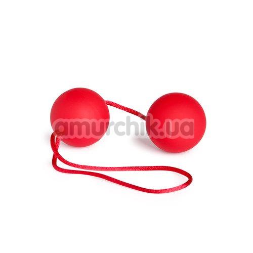 Вагинальные шарики Velvet Red Balls красные