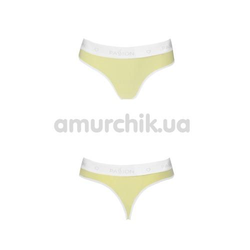 Трусики-стринги Passion PS007 Panties, желтые