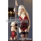 Боди Cottelli Collection 2640252, чёрно-красное - Фото №1