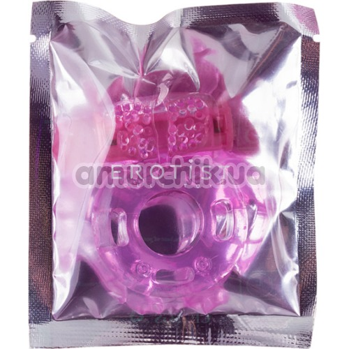 Виброкольцо Erotist, розовое