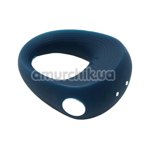 Виброкольцо Satisfyer Rings 2, синее