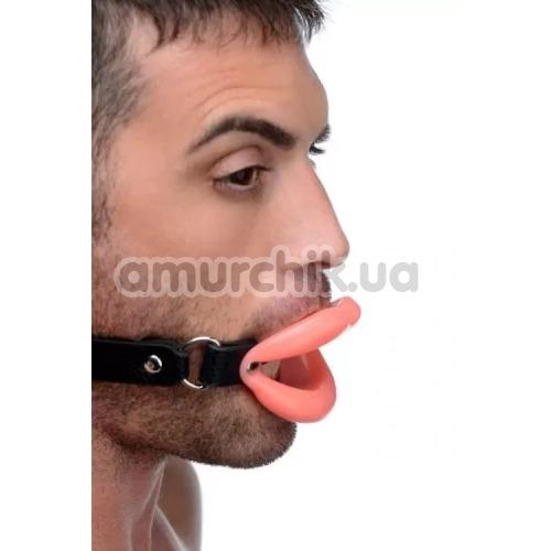 Расширитель для рта Master Series Sissy Mouth Gag, розовый